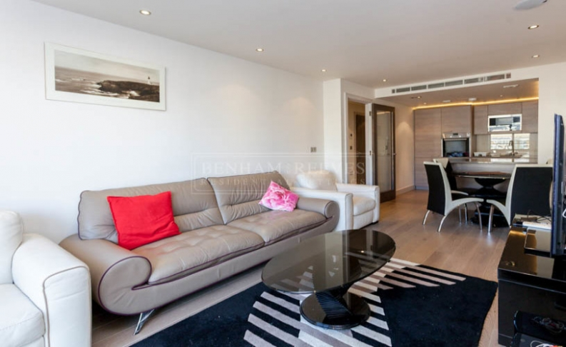 picture of 1-bed flat in  Imperial Wharf