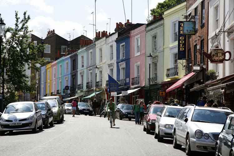notting hill gate area guide for renting and living rentals london. Black Bedroom Furniture Sets. Home Design Ideas
