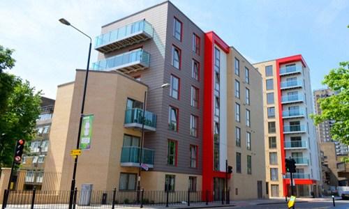 Caxton Apartments and Garamond Building E1