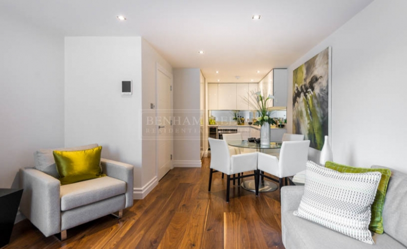 picture of 1 Bedroom(s) flat in  The Hansom, Bridge Place, Victoria, SW1