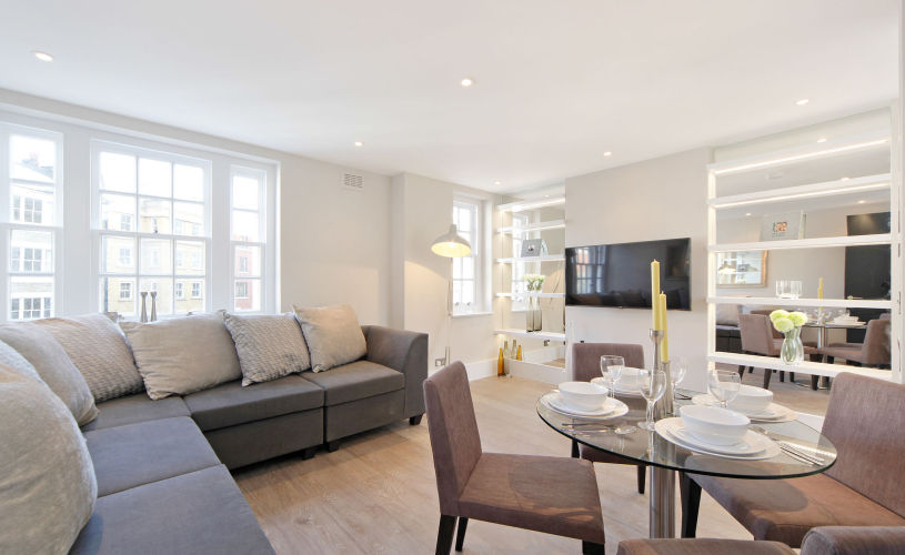 picture of 1 Bedroom(s) flat in  Carey Mansions, Pimlico, SW1P