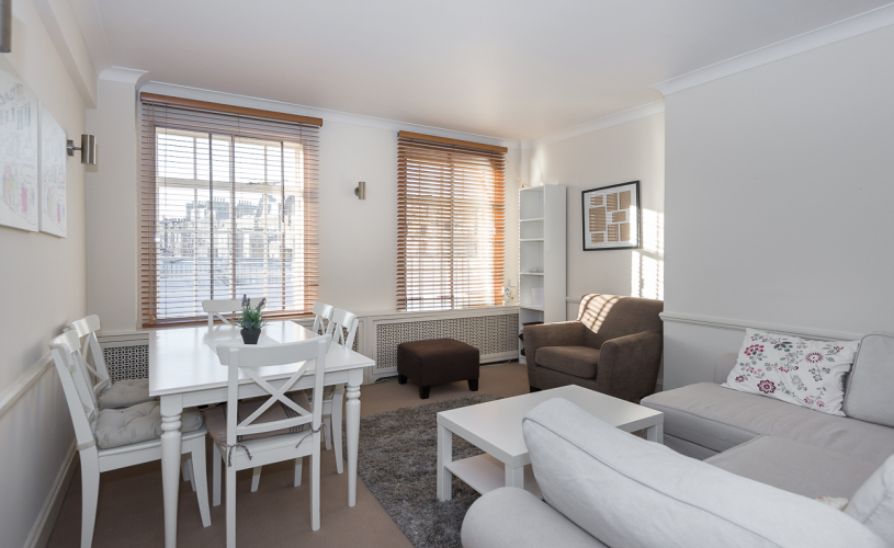 picture of 1 Bedroom(s) flat in  St. George's Court, Brompton Road, SW3