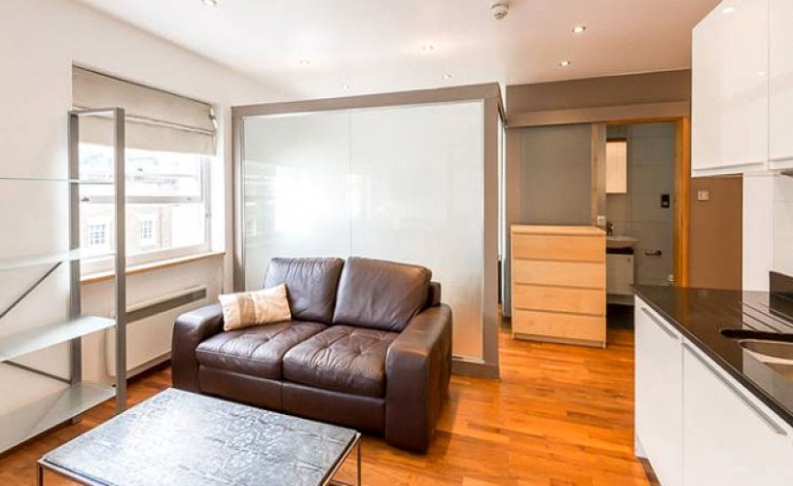 picture of Studio flat in  Upper Berkeley Street, Marble Arch, W1