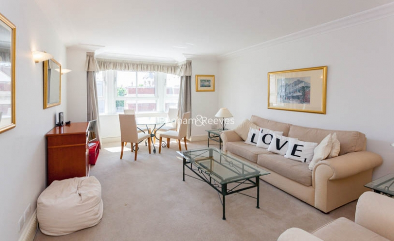 picture of 1 Bedroom(s) flat in  Wrights Lane, Kensington, W8