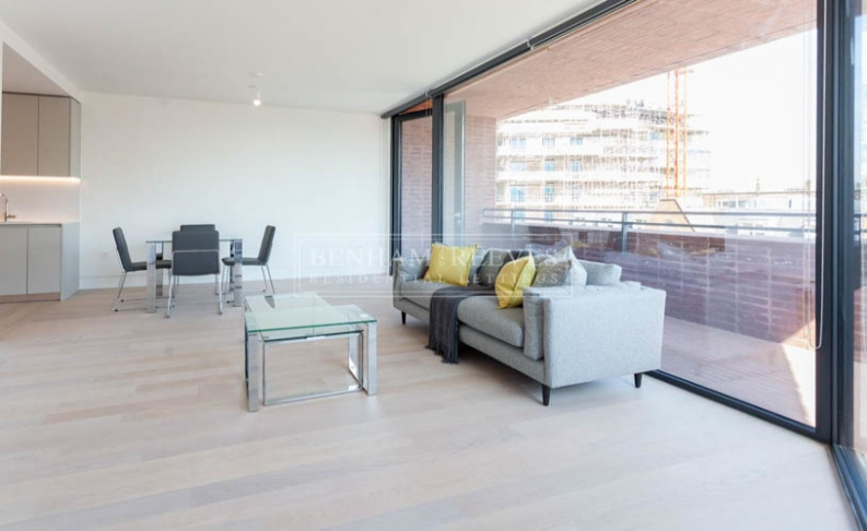 picture of 1 Bedroom(s) flat in  Hoxton Press, Penn Street, N1