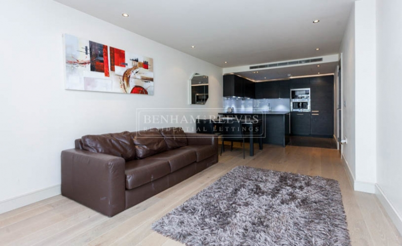 picture of 1 Bedroom(s) flat in  Chelsea Creek, Fulham, SW6