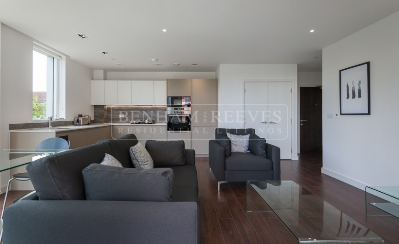 picture of 1 Bedroom(s) flat in  Woodberry Down, Highgate, N4