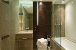 Stylish and Furnished Bathrooms At Pan Peninsula, Canary Wharf
