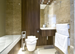 Stylish and Furnished Bathrooms At Kew Bridge, Knightsbridge