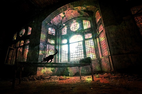 haunted places of london