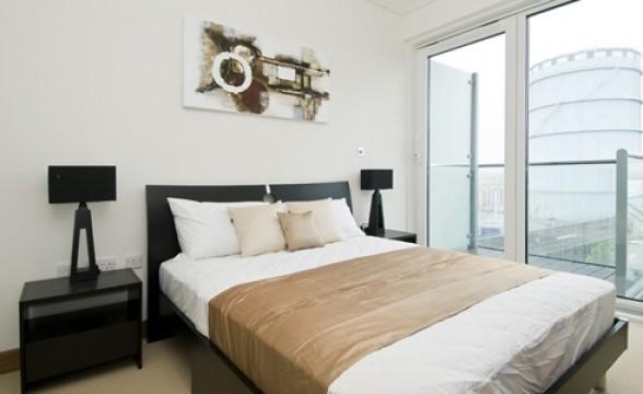 Chelsea Bridge Wharf, SW8 - Bedroom