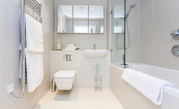 Battersea Exchange, SW8 - Bathroom