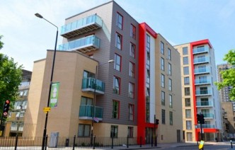 Caxton Apartments and Garamond Building E1