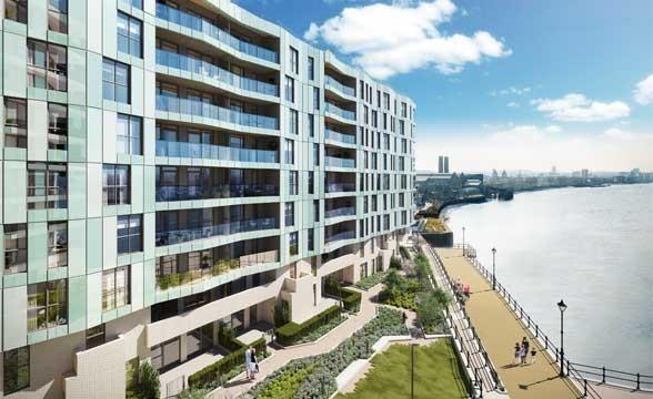 Enderby Wharf, SE10