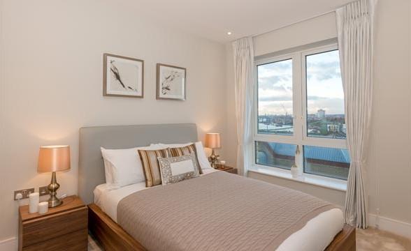 Fulham Reach, W6 - Bedroom