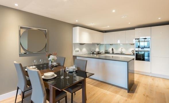 Fulham Reach, W6 - Kitchen