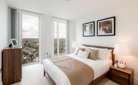 Fulham Riverside, SW6 - Bedroom