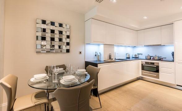375 Kensington High Street, W14 - Kitchen