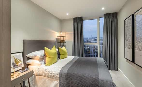 London Dock, E1W - Bedroom
