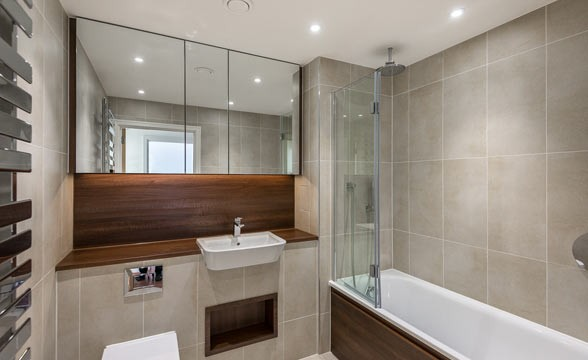Nine Elms Point, SW8 - Bathroom