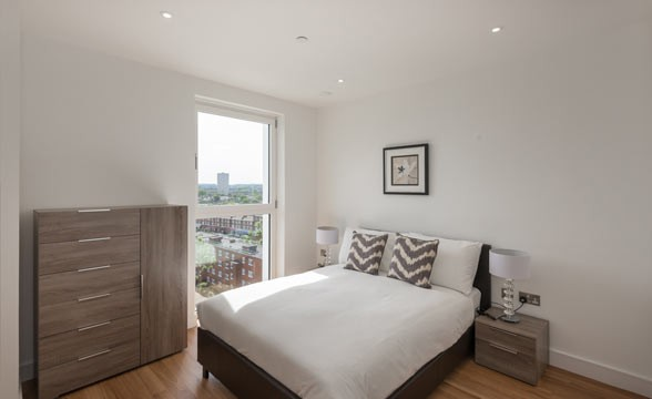 Nine Elms Point, SW8 - Bedroom
