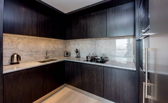Providence Wharf , E14 - Kitchen