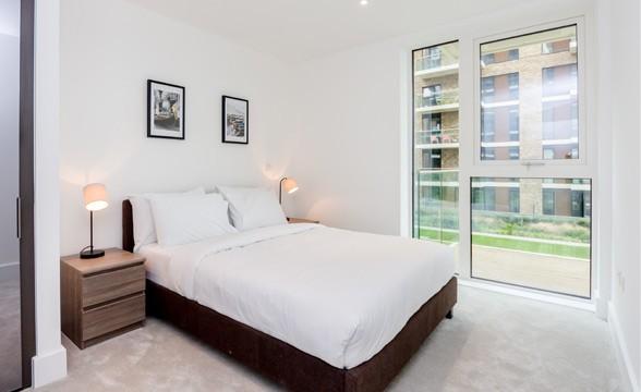 Royal Arsenal Riverside, SE18 - Bedroom