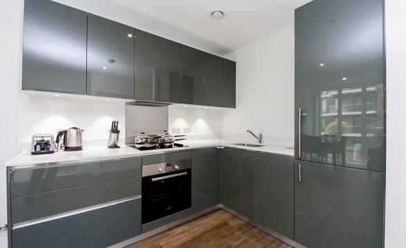 Royal Arsenal Riverside, SE18 - Kitchen