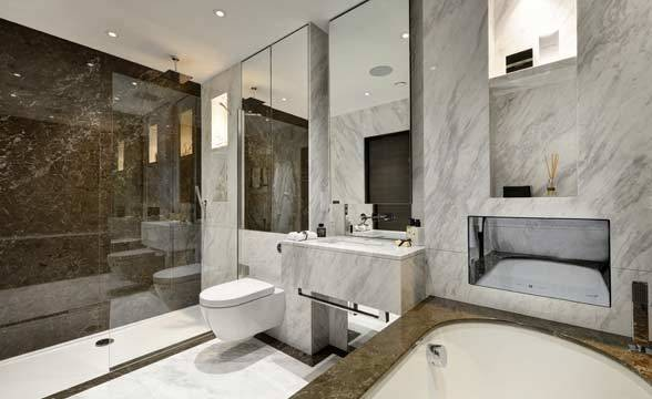 Sovereign Court, W6 - Bathroom