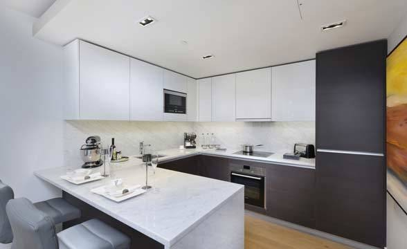 Sovereign Court, W6 - Kitchen