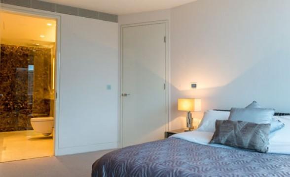 St George Wharf, SW8 - Bedroom