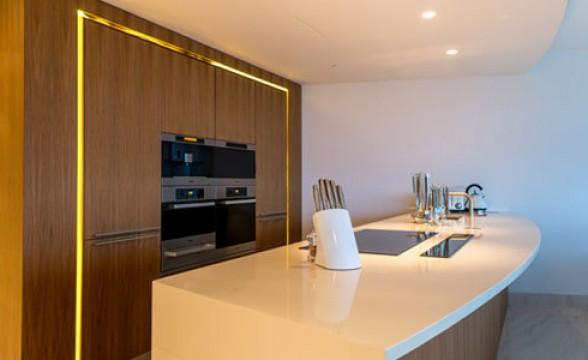 St George Wharf, SW8 - Kitchen