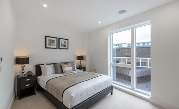 Tower Bridge Gardens, SE1 - Bedroom