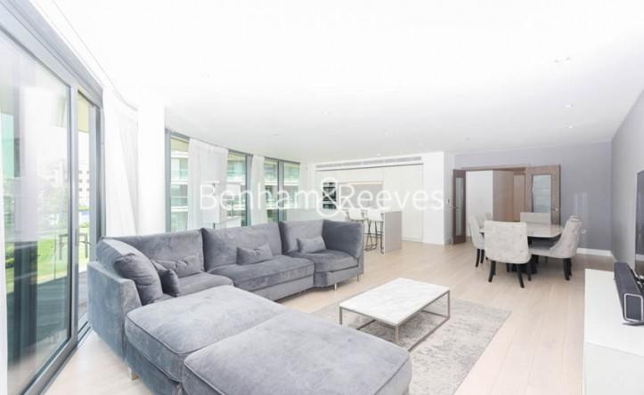 3 Bedroom flat to rent in Parr's Way, Hammersmith, W6