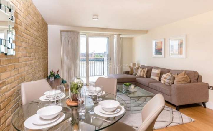1 Bedroom flat to rent in Wapping High Street, Wapping, E1W