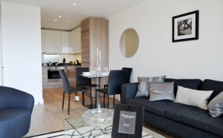 picture of 1 Bedroom(s) flat in  Marine Wharf, Canary Wharf, SE16