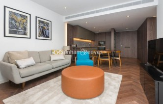 picture of 2 Bedroom(s) flat in  Circus Road West, Nine Elms, SW11