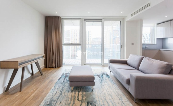 1 Bedroom flat to rent in Nine Elms Point, Nine Elms, SW8