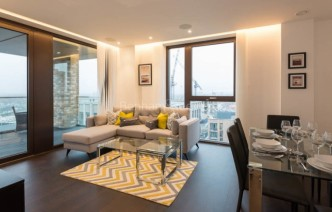 picture of 3 Bedroom(s) flat in  The Residence, Nine Elms, SW11