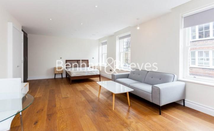 Studio flat to rent in Kensington High Street, Kensington, W8