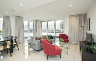 picture of 3 Bedroom(s) flat in  Delphini Apartments, Blackfriars Circus, SE1