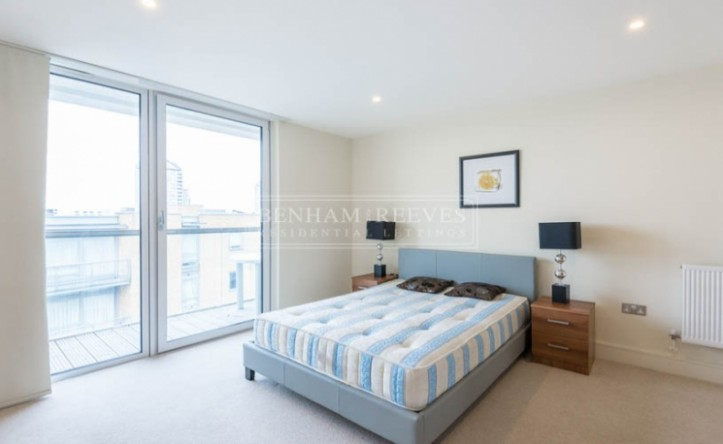 2 Bedroom flat to rent in Denison House, Canary Wharf, E14