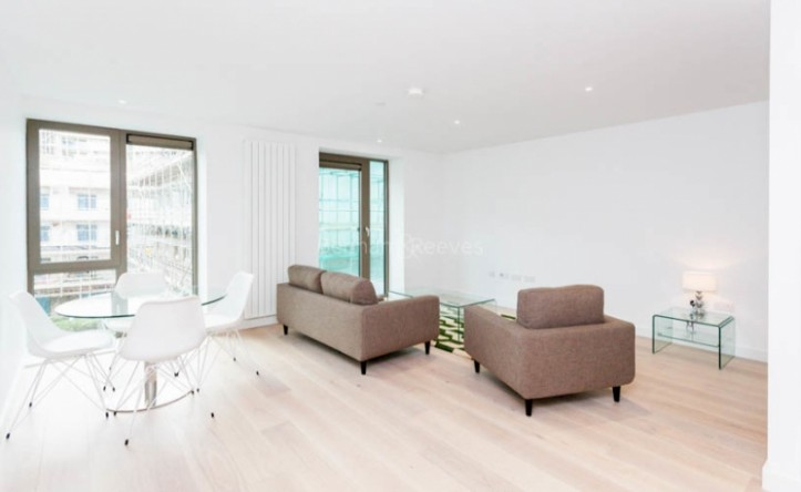 1 Bedroom flat to rent in Laker House, Royal Wharf, E16