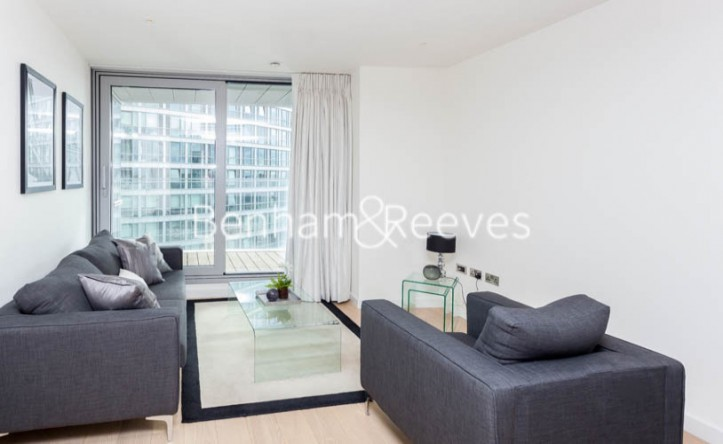 1 Bedroom flat to rent in Biscayne Avenue, Canary Wharf, E14